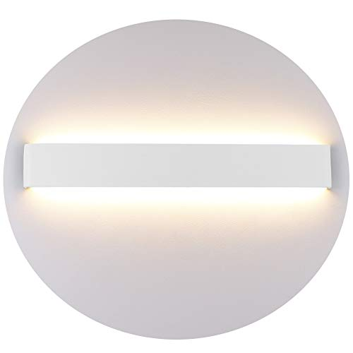Klighten Aplique Pared Interior LED 20W 60CM Blanco Lámpara de pared para Salon Dormitorio Sala Pasillo Escalera Baño Blanco Cálido 3000K