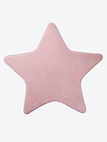 VERTBAUDET Alfombra Estrella Rosa Unica