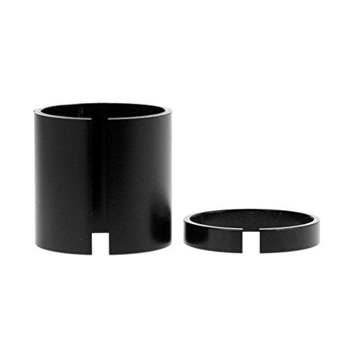 Inzopo Ahead - Juego de vástagos para manillar (1 1/8' a 1', 28,6 mm a 25,4 mm)