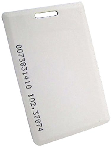 Preisvergleich Produktbild AE 092001 Transponder-Karte TK4100 125 kHz weiß Standard,  Türstationen mit RFID und Fingerprint AE-F-100 und Codeschloss AE-32DT