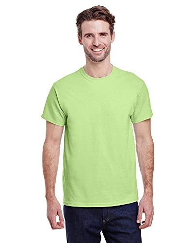 Gildan Men's G2000 Ultra Cotton Adult T-shirt, Mint Green, Large