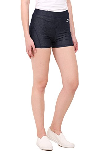 LE BOURGEOIS Women's Dark Blue Active Short
