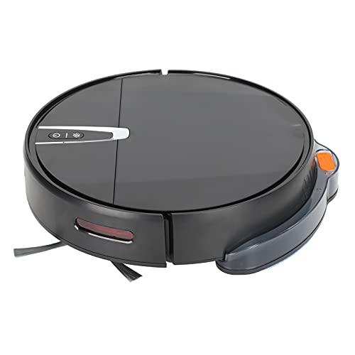 SUYANG 2000pa Robot De Limpieza Aspiradora 600ml Limpiador De Piso Inteligente Us 100-240v Negro
