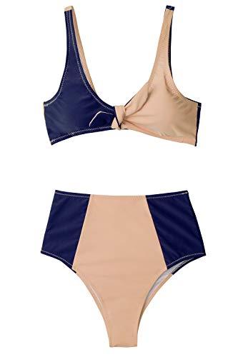 CUPSHE Perdu dans Le Rêve Bikini Taille Haute