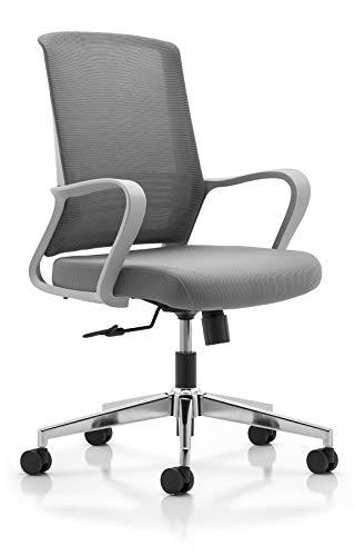 MISURAA Mesh Modern Ergonomic Office Chair (Grey)