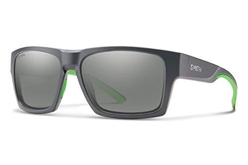Smith Optics Outlier XL 2 Sunglasses, Matte Cement/ChromaPop Platinum Mirror, One Size