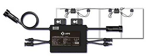 Photovoltaischer Mikro-Inverter 500 W, zwei Eingänge, Kapazität für zwei Solarpanels.