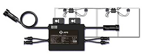 Microinversor fotovoltaico de 500W, dos entradas, capacidad para dos paneles solares.