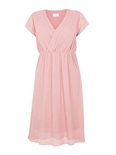 MAMALICIOUS Damen MLYOLANDA Mary Cap Woven Dress NF REP, Mellow Rose, M