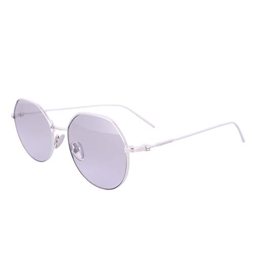 Calvin Klein CK18111S, Titanium - Gafas de sol plateadas unisex para adulto, multicolor, estándar