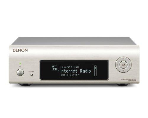 Denon DNP-F109 Kompakt-Netzwerk-Player (Internetradio, DLNA, AirPlay, App Steuerung, USB) premium silber