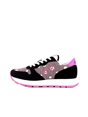 SUN68 Sneakers Ally Pois Scarpe Donna Nero Z30207