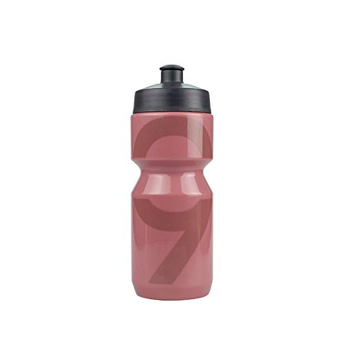Jusemao Ciclismo Botella de agua Senderismo Escalada Baloncesto Al aire libre Exprimir Recto Agua a Prueba de fugas Deportes Botella de agua de plástico 500ml-Jujube rojo_500ml