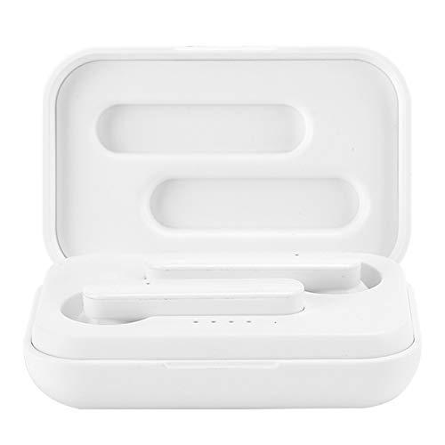 Voluxe Auriculares inalámbricos Auriculares Bluetooth Larga Vida útil Diseño Profesional Llamada para Escuchar música(Binaural White)