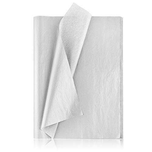 Seidenpapier für Geschenkpapier,100 Blatt,50 x 35cm Farbe Seidenpapier,Premium-Qualität Seidenpapier Set,Hochwertiges Dekorpapier,farbfest Geschenkpapier,Mix Seidenpapier,Farbiges Seidenpapier