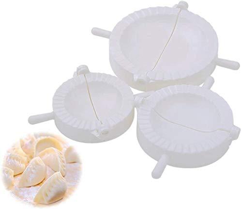 SYANO Lot de 3 moules à raviolis pour pâtisseries, gâteaux, raviolis (accessoire de cuisine)