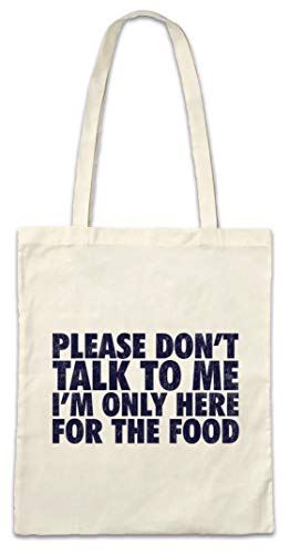Urban Backwoods I'm Only Here For The Food Boodschappentas Schoudertas Shopping Bag
