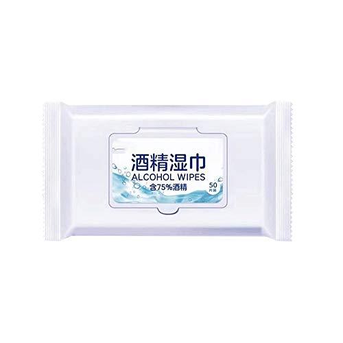 SMX Pack Vochtige doekjes Gentle Flushable, Touch Lens Cleaning Hand Wipes for thuisgebruik Een verpakking / 50 tablets * 3 verpakkingen
