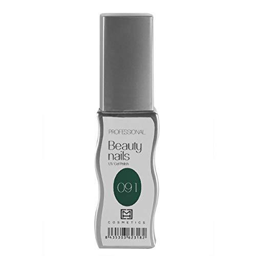 MH Cosmetics Gel Polish Semipermanent 091 donkergroen, per stuk verpakt (1 x 10 ml)