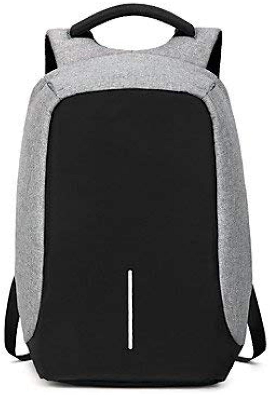 Pureed Nner All Männer Taschen Oxford Wandern Seasons Mode Stylisch Tuch Rucksack Casual Formal Outdoor Reisen Schwarz Grau (Farbe   Grau, Größe   One Größe) B07PSMQN2P  Hochwertige Materialien