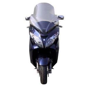 Fabbri Lastra Parabrezza Exclusive Trasparente per Suzuki-Burgman AN 400 dal 2007 Fino al 2014