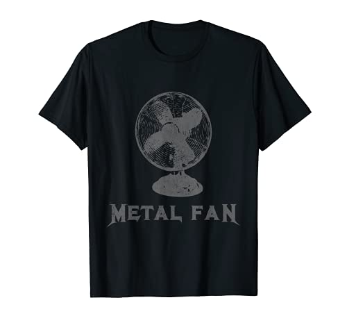 Metal Fan T-Shirt Funny Sarcastic Heavy Metal Music Novelty