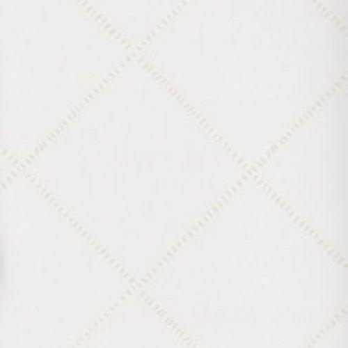 Casadeco 19011130 Papel pintado de formas geométricas con rombos en color blanco roto