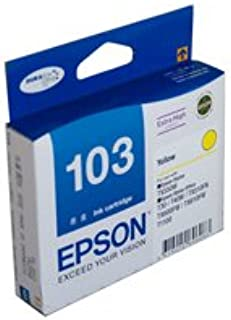Epson Stylus Office TX610FW High Yield Yellow Ink (Genuine)