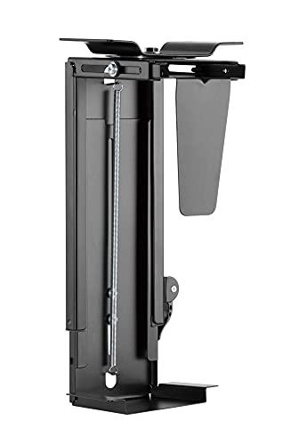 StandXT SPB-19 - Soporte para ordenador de sobremesa (regulable en altura y anchura, hasta 10 kg)