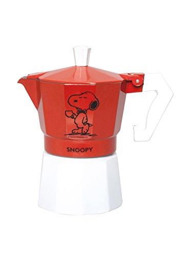 Molecuisine Cafetera Peanuts Snoopy Rojo