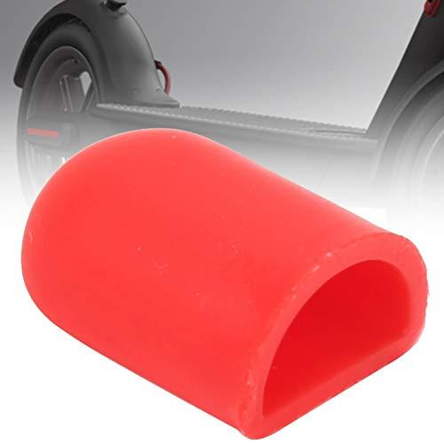 Silicona conveniente del tenedor del pie del Kickstand de la vespa eléctrica, conveniente para la vespa eléctrica(red)