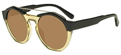 Marni Gafas de Sol PONT ME616S Dark Green Yellow/Brown 52/21/140 mujer