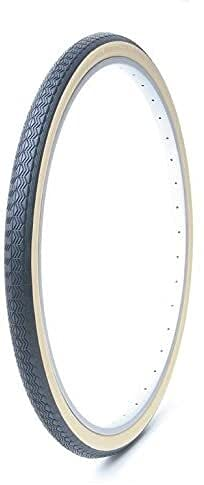 Byrhgood Neumático de Bicicleta de neumático (Color : Translucido/Negro)
