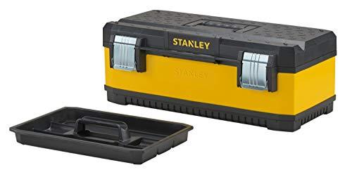 Stanley 1-95-613 23-inch metaal/kunststof gereedschapskist - geel