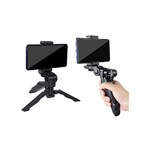 SUBTON Photography Mobile Holder Mini Tripod Camera Stand with Horizontal & Vertical Rotation | for Vlogging, Video Shooting, YouTube etc Compatible with All Mobile Phones, Action GoPro Cameras DSLR