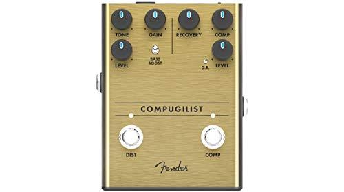 Fender® COMPUGILIST Compressor/Distortion Floor Effect Pedal