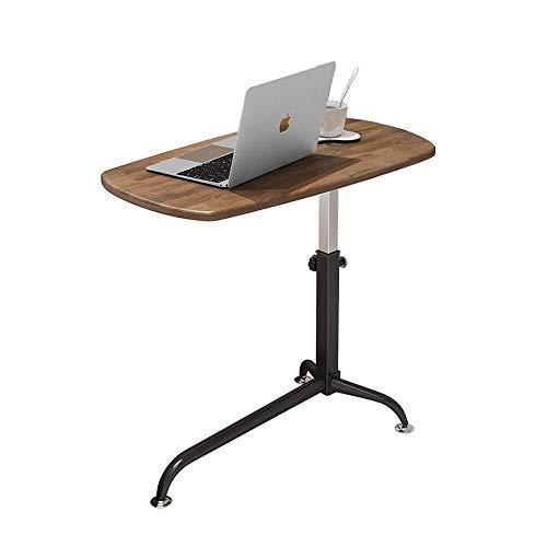 LILIS Mesa Plegable Las Estaciones de Trabajo de Ordenador de Mesa fácil de Mover Escritorio de la computadora portátil Escritorio de elevación Simple