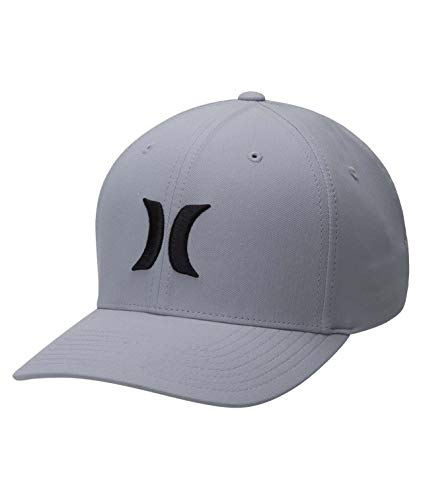 Hurley M Dri-Fit One&Only 2.0 Hat Gorra, Hombre, Black/Dark Grey, L/XL