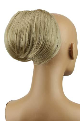 PRETTYSHOP Dutt Haarteil Zopf Haarknoten Hepburn-Dutt Haargummi Hochsteckfrisuren sandblond #24 HD12