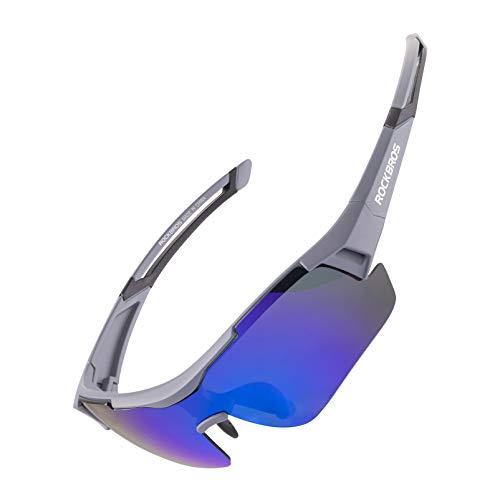 ROCKBROS Gafas de Sol Polarizadas Protección UV400 para Bicicleta MTB Ciclismo Running...