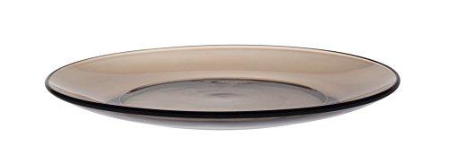 Duralex 3008CF06Criollo–Lote de 6Platos Postre de Cristal marrón, 19 cm.