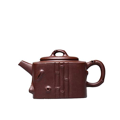 ADSE Tea Maker Pot Teapot Handmade Purple Clay Teapot Tea Cup Quartet Shichiku (Color : Purple mud)
