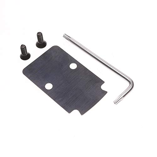 DEF RMR Mounting Plate Mount Sealing Plate Adapter Cover Kit for Glock G 17 19 34 35 40 41 Gen 4 MOS Springfield OSP Models