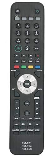 ALLIMITY RM-F01 RM-F04 RM-E06 Fernbedienung Ersetzt für Humax Foxsat HDR Freesat Box RM-F01 RM-F04 RM-E06