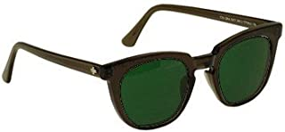 BoroView Shade #5 Brown Lens - Glass Working Spectacles in Reinforced Plastic Safety Frame with Removable Side Shields