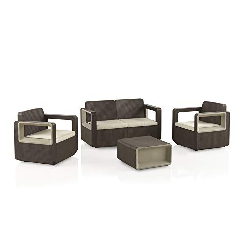 Shaf Venus Conjunto Muebles Sofa 2 Plazas + 2 Sillones