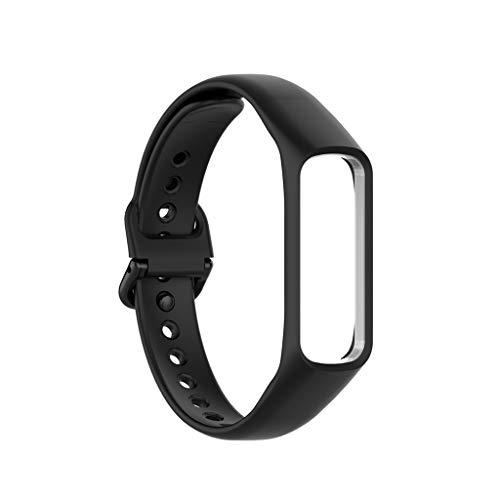 Correa de silicona suave para reloj inteligente Sàmsung -Gàlaxy Fite R375, correa de reloj deportivo, correa de repuesto para pulsera y accesorios de silicona