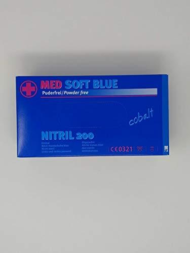 Nitrilhandschuhe, Einweghandschuhe, Einmalhandschuhe Nitril 200 Stück Größe M