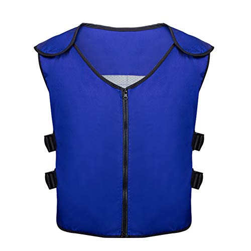 Summer Cooling Vest with 20 PCS Ice packs for Teens,Men and Women for Fishing,Cycling,Running,Cooking,Gardening,Motorcycle