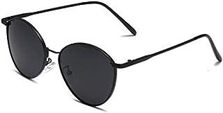 TYJYY Sunglasses Cute Round Sunglasses Women Luxury Vintage Punk Metal Frame Glasses for Men Uv400